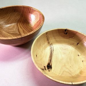 A quick pair of bowls.