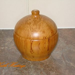 Rimu Lidded Box