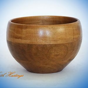 Vitex Hardwood Bowl