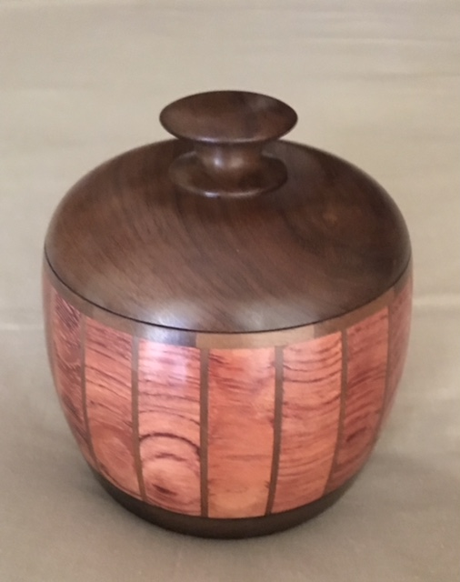 Lidded Bubinga Box No2