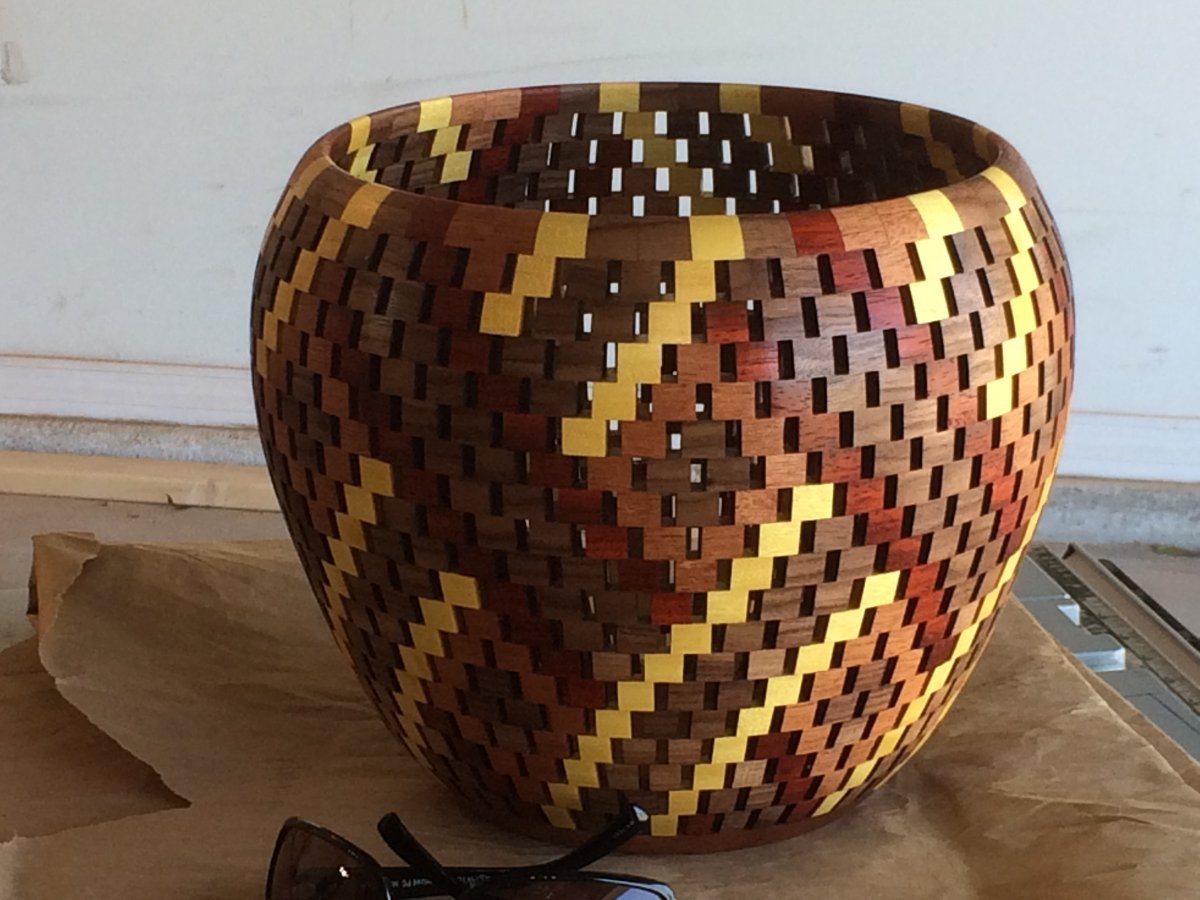 The Basket Weave Bowl