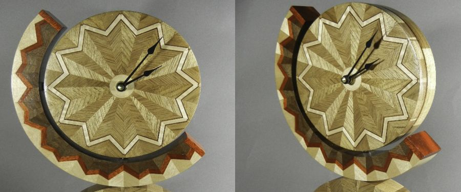 Segmented Clock - Art Bodwell